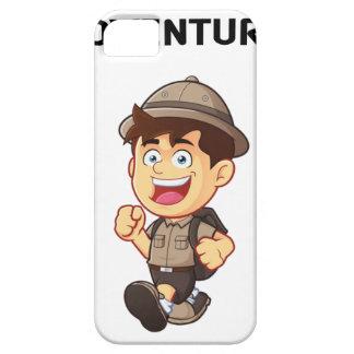 Abenteuer-Junge iPhone 5 Etui