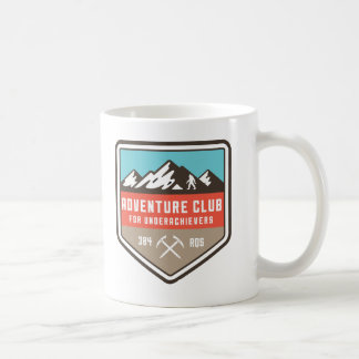 Abenteuer-Verein für Underachievers-Tasse Kaffeetasse