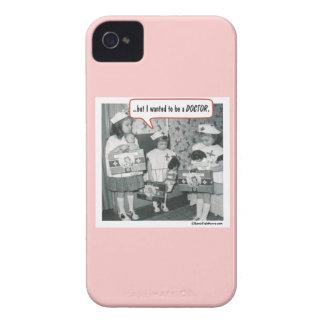 Aber ich wollte, um ein Doktor zu sein iPhone 4 Cover