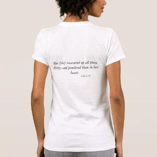 Aber [sie] gehüteter Scripture-Anwendungs-T - Tshirts