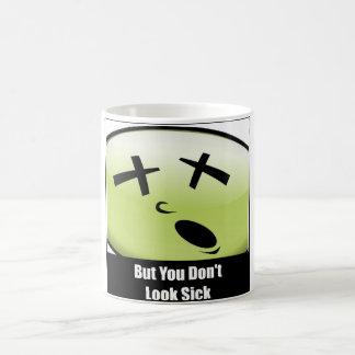 Aber Sie schauen nicht kranke Kaffee-Tasse Kaffeetasse