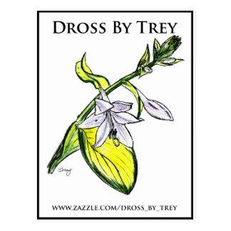 Abfall durch Trey Hosta-Postkarte Postkarte