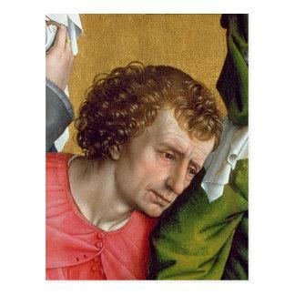 Abfall vom Kreuz, c.1435 Postkarte