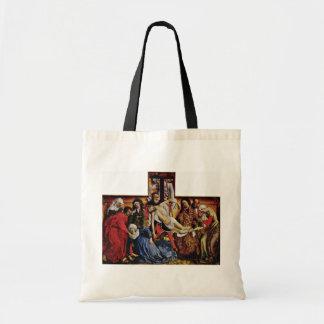 Abfall vom Kreuz durch Weyden Rogier Van Der Tasche