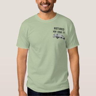 Abfallwirtschafts-gesticktes Shirt
