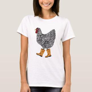 Abgehaltener Felsen mit Sloggers-Produkten T-Shirt