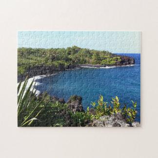 Abgelegene Bucht in Maui, Hawaii Puzzle