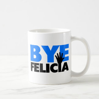 Abgelegene Felicia-Handwellen-mutiges Blau Kaffeetasse