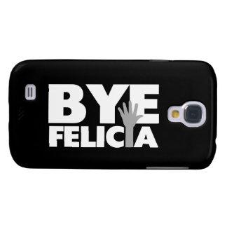 Abgelegenes Felicia-Handwellen-Grau u. Weiß Galaxy S4 Hülle