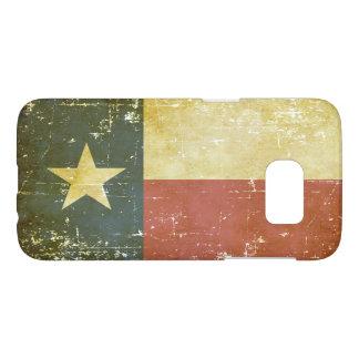 Abgenutzte patriotische Texas-Staats-Flagge