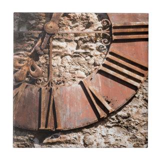 Abgenutzte Zeit Keramikfliese