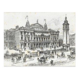 Abgeschlossene Gebäude des Palastes der Leute Postkarte