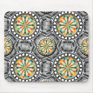 Abgeschrägtes geometrisches Muster Mousepads