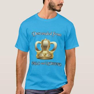 Abgestiegen von Königen und vom Queens T-Shirt