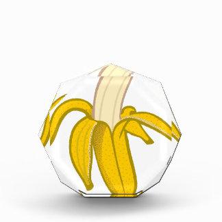 Abgezogene Banane Acryl Auszeichnung
