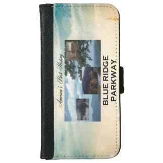 ABH blaue Ridge Allee iPhone 6/6s Geldbeutel Hülle