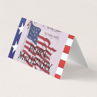 ABH Fort McHenry Visitenkarten