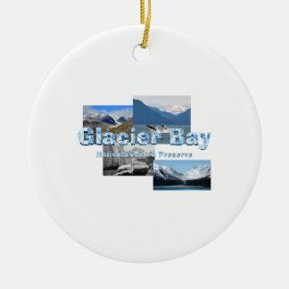 ABH Glacier Bay Rundes Keramik Ornament