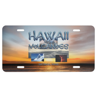 ABH Hawaii Vulkane US Nummernschild