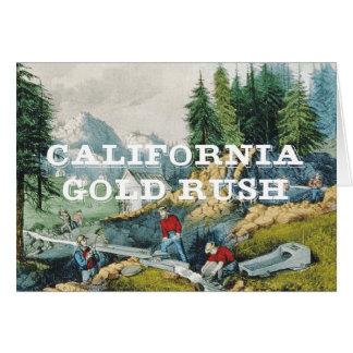 ABH Kalifornien Goldrausch Karte