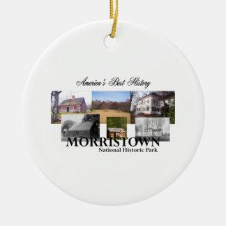 ABH Morristown NHP Rundes Keramik Ornament