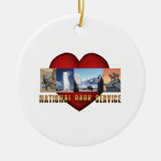ABH Nationalpark-Liebe Keramik Ornament