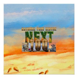 ABH Nationalparks als Nächstes 100 Poster