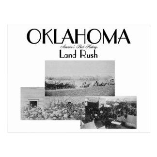 ABH Oklahoma Land-Eile Postkarten