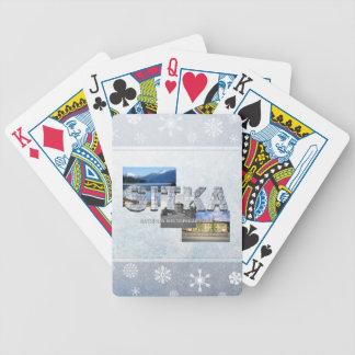ABH Sitka Bicycle Spielkarten