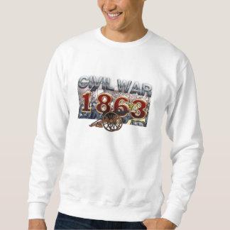 ABH ziviler Krieg 1863 Sweatshirt