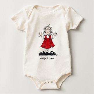 Abigail-Liebe-Säuglingsabnutzung Baby Strampler
