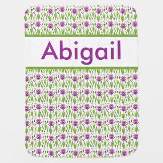 Abigails personalisierte Iris-Decke Puckdecke