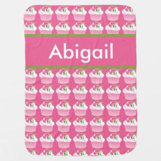 Abigails personalisierte Kuchen-Decke Puckdecke