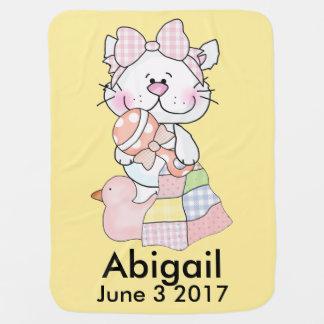 Abigails personalisierter Kitty Puckdecke