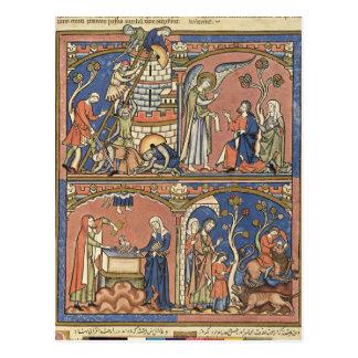 Abimelech und Samson Postkarte