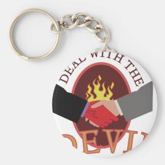 Abkommen mit Teufel Schlüsselanhänger