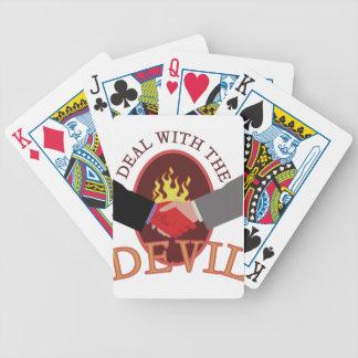 Abkommen mit Teufel Pokerkarten