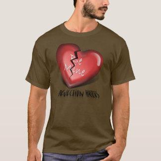 Ablehnung des defekten Herzens T-Shirt