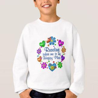 Ablesen meines glücklichen Platzes Sweatshirt