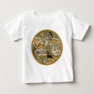 Ablesen zu den Tieren Baby T-shirt