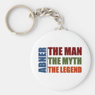 Abner der Mann, der Mythos, die Legende Standard Runder Schlüsselanhänger