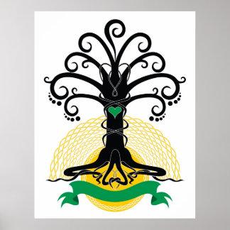 Abnona Baum Poster