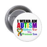 Abnutzungs-Band des Autismus-I für meinen wertvoll Anstecknadelbuttons