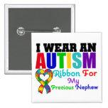Abnutzungs-Band des Autismus-I für meinen wertvoll Anstecknadel