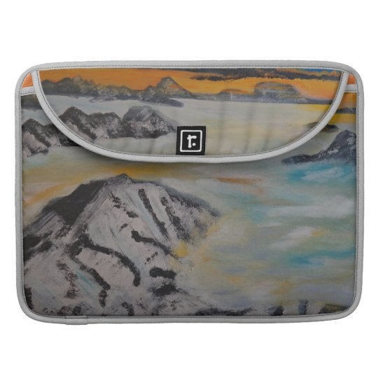 Above the clouds sleeve für MacBook pro
