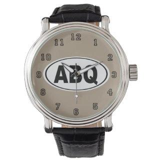 ABQ Albuquerque New Mexiko Armbanduhr