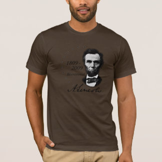 Abraham Lincoln (Abe) zweihundertjähriges T-Shirt