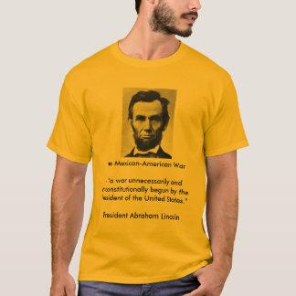 Abraham Lincoln auf dem mexiko-amerikanischen T-Shirt