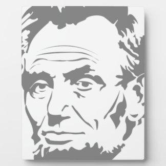 Abraham Lincoln Fotoplatte