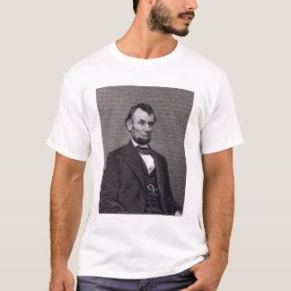 Abraham Lincoln, graviert von einer Fotografie T-Shirt